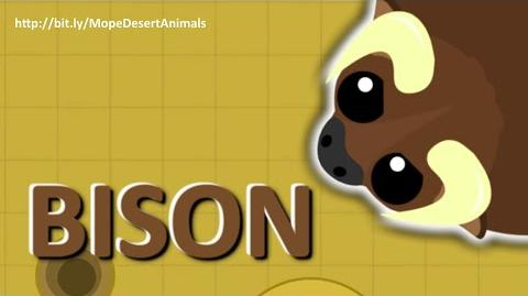 MOPE.IO *NEW* Bison GORES MOPE WORLD DesertUpdate TEASER 73-0