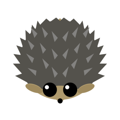 The Hedgehog using it's Special Ability.