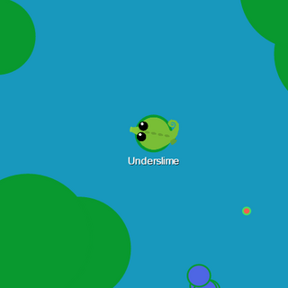 The seahorse wandering in a hilly place