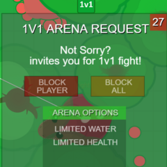 The new request bar for 1v1s.