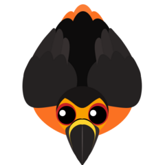 The legendary Lava Toucan. Has 25% more health, is immune to lava, and can throw fire if it was in lava last.