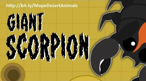 MOPE.IO THE GiantScorpion SHIVERS MOPE WORLD DesertUpdate Teaser 75