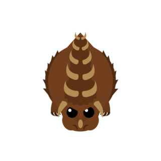 The scrapped Dino Monster.