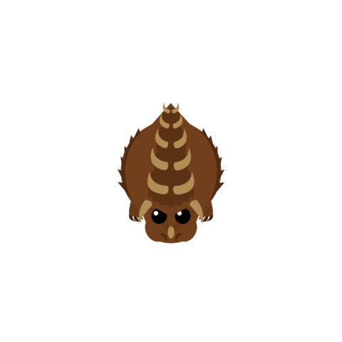 The scrapped Dino Monster