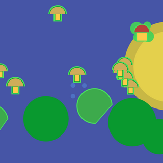 A lake.
