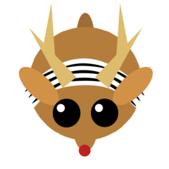 The winter skin of the Deer.