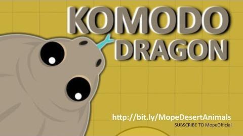 MOPE.IO THE ULTIMATE KILLER KomodoDragon THREATENS MOPE WORLD DesertUpdate TEASER 74
