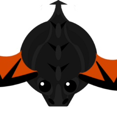 The scrapped flying ability of the Black Dragon.