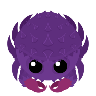 Amethyst Crab