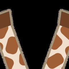 Former Giraffe stomp leg