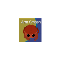 The Arm Smash icon.