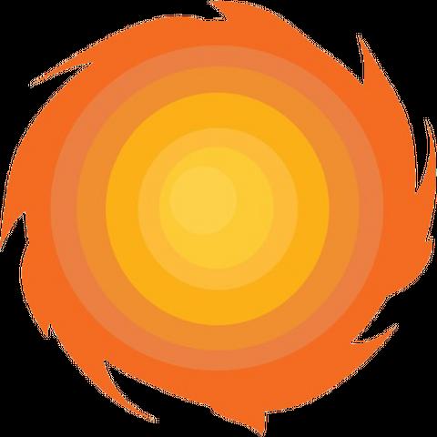 A fire tornado (Phoenix's ability).