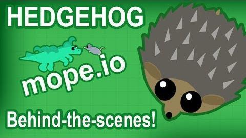 MOPE.IO BEHIND THE SCENES! HEDGEHOG COMING SOON