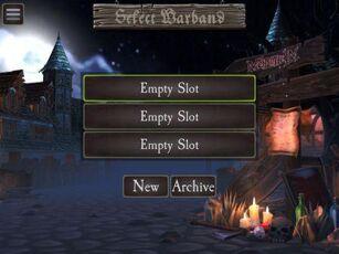 Select Warband