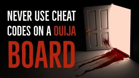 ''Never Use Cheat Codes on a Ouija Board'' reading by Dr. Creepen