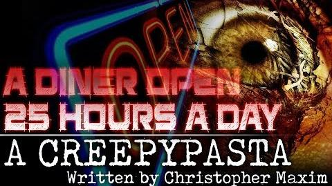 """A Diner Open 25 Hours a Day"" reading by Ghost Mummy"