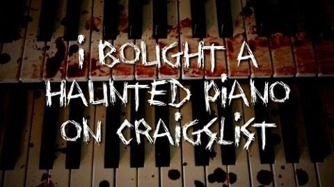 """I Bought a Haunted Piano on Craigslist"" KingSpook"
