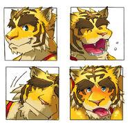 Torahiko Face Expressions