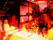 Tatsuki's House on Fire