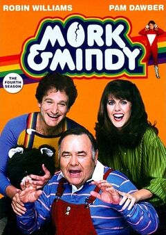 Mork & Mindy Season 4 DVD cover