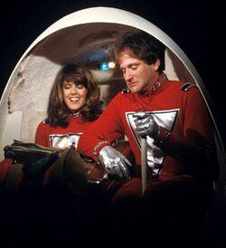 Mork and Mindy The Honeymoon Pam Dawber Robin Williams