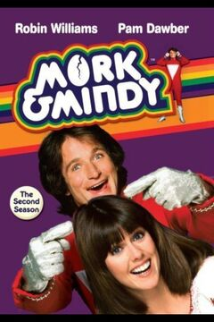 Mork & Mindy Season 2 DVD cover