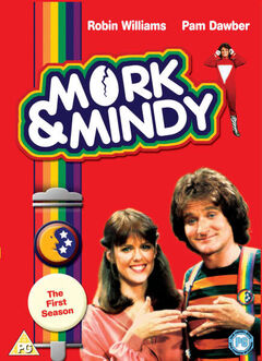 Mork & Mindy Season 1 DVD cover