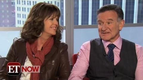 Pam Dawber & Robin Williams Interview on ET Now (4 9 14)