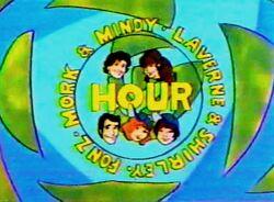 Mork & Mindy Laverne & Shirley Fonz Hour