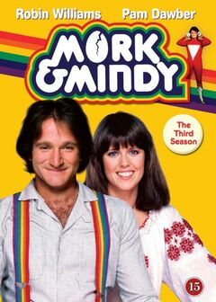 Mork & Mindy Season 3 DVD cover