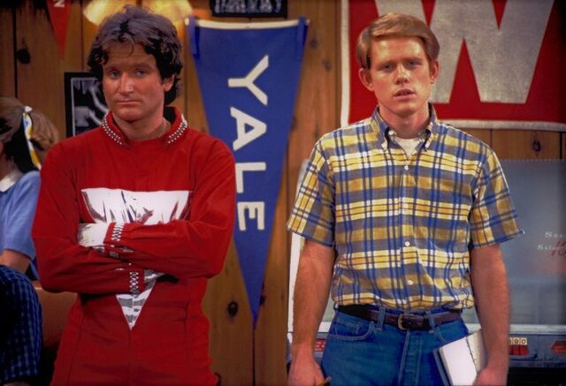 File:My Favorite Orkan - Happy Days Meets Mork - Robin Williams Ron Howard.jpg