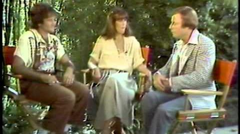 Robin Williams and Pam Dawber interviewed by Wes Ferns of KQTV 2