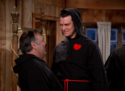 Mork & Mindy episode 4x9 - Ailenation - Richard Moll as Baba Gentle