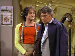Mork and Mindy Robin Williams Logan Ramsey