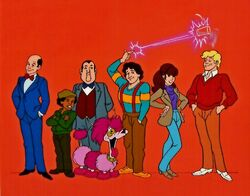 Mork and Mindy Cartoon Cast 1