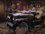 Mork & Mindy episode 3x5 - Jeep in Mr. Bickley's apartment