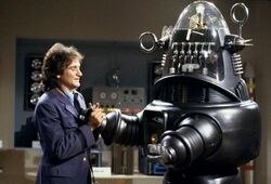Dr Morkenstein Robin Williams Robbie the Robot
