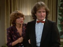 Mork and Mindy episode 2x4 - Mork's Baby Blues - Robin Williams Dinah Manoff