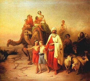 527px-Molnár Ábrahám kiköltözése 1850