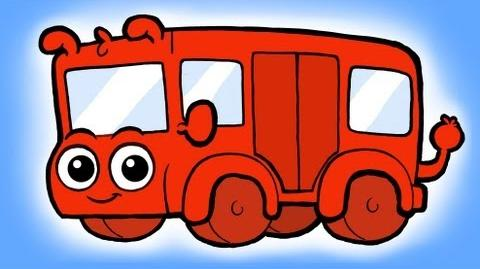 ♪ The wheels on the Bus go round and round Song ♪ nursery rhyme -- My Magic Pet Morphle