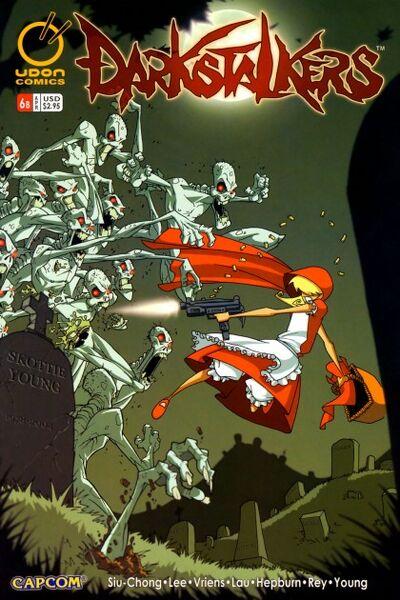 Darkstalkers 006 cover-b -2005- (bittertek-DCP)