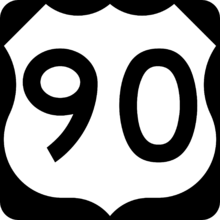 US 90 Shield (MV)