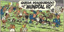 Queda inaugurado el Mundial 82