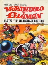 Mortadelo y Filemón El otro yo del profesor Bacterio