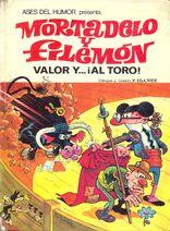 Mortadelo y Filemón Valor y al toro