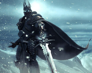 World-of-Warcraft-Frost-Knight-King-Wallpaper