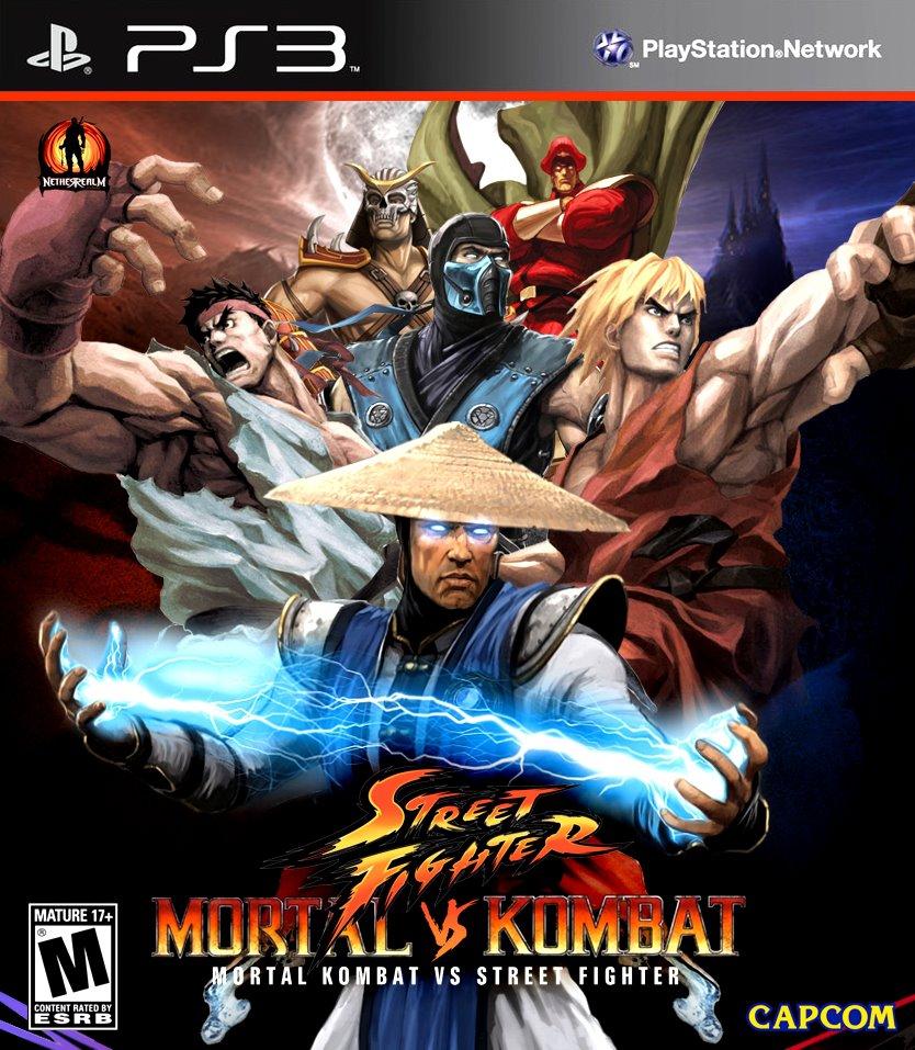 Mortal Kombat Vs Street Fighter Mortal Kombat Fanon Wiki Fandom