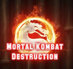 Mortal Kombat Destruction Logo Oficial