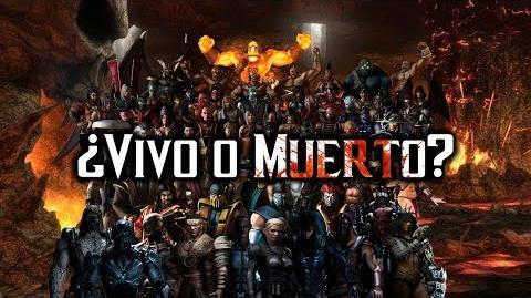 Mortal Kombat ¿qué personajes viven o están muertos?