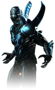 Blue beetle injustice 2 render by yukizm-davr5bs